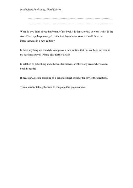 Questionnaire 5