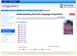 Understanding Second Language Acquisition